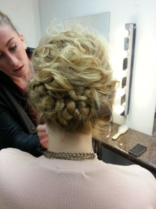 Fab definition with a knot plait threw the back