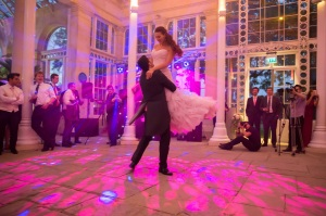 First dance....and the hair looked spectacular