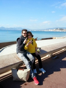 Beautiful sunny day....cool kids rocking Cannes